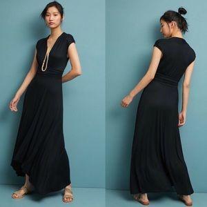 Anthropologie Dresses - NWT Anthropologie Black Maxi Dress